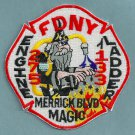 FDNY Queens New York Engine 275 Ladder 133 Fire Company Patch