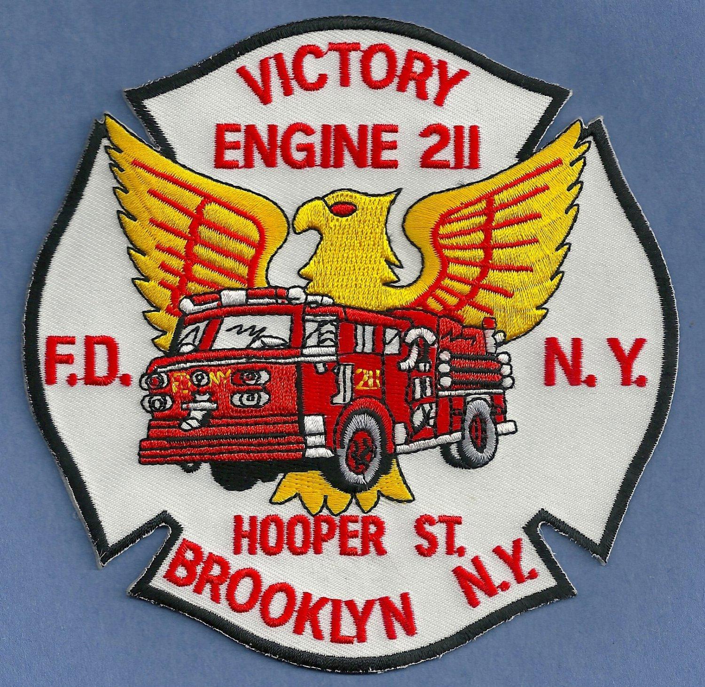 FDNY Brooklyn New York Engine Company 211 Fire Patch