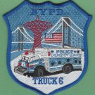New York Police Department Emergency Service Squad 6 Patch