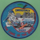 New York Police Department Emergency Service Squad 1 Patch
