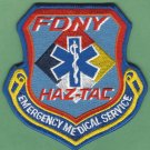 FDNY New York EMS Haz Tac Fire Patch