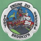 FDNY Brooklyn New York Engine Company 210 Fire Patch Pumper