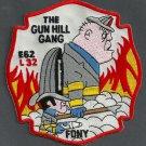 FDNY Bronx New York Engine 62 Ladder 32 Fire Company Patch