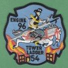 FDNY Bronx New York Engine 96 Ladder 54 Fire Company Patch