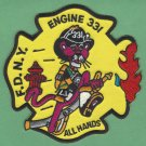 FDNY Queens New York Engine Company 331 Fire Patch