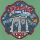 New York Fire Department Brooklyn Communications Division Patch
