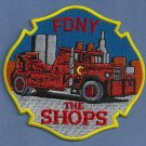 FDNY Automotive Shops Fire Patch