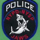 New York Police Department JAWS Patch