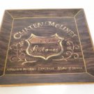 Chateau Molinet 1857 Sautemes - Wine Enthusiast Sign / Plate