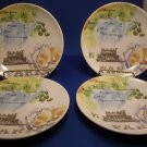 Four - 222 Fifth PARIS TRAVELS Appetizer Plate 10748408