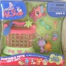 Littlest Pet Shop Pink Spider & Purple Butterfly Gift Set