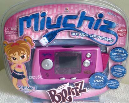 BRATZ Miuchiz YASMIN Electronic Virtual Friend Game