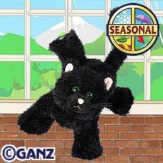 Webkinz Black Cat Halloween Seasonal Limited Edition