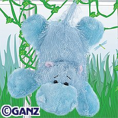 Webkinz Blue Hippo New with Sealed Tag