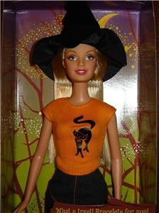 Halloween Hip Witch Barbie Brand New NRFB