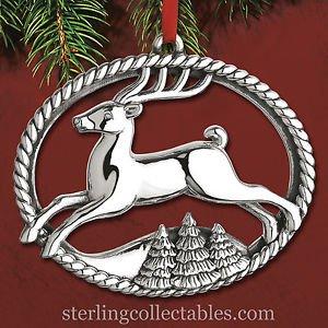 Reed & Barton 2015 Annual Williamsburg Sterling Ornament NIB