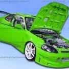 99-00 Civic Buddy body kit