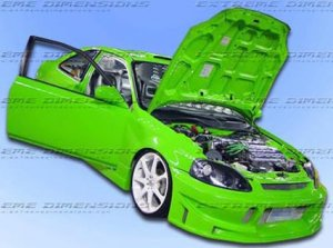 99-00 Civic Buddy body kit