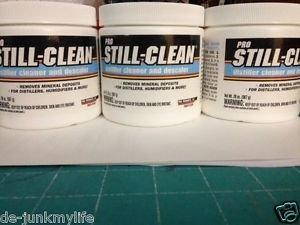 Still-Clean ST32N Distiller & Descaler  Mineral Remover & Dehumidifier pack of 3
