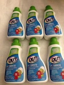 6 Pack Out Pro Wash Odor Stain Eliminator Detergent Remove Sweat Pet Urine