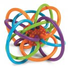 Winkel Rattle and Sensory Teether Activity Toy By Manhattan Toy New