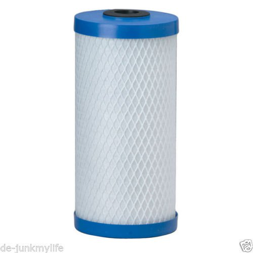 "New Pentek EP-BB Carbon Block Cartridge 10"" x 4.5"" 5 Micron Big Blue Filter 155548-43"