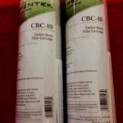 "New Pentek CBC-10 Carbon Block Filter Cartridge 9 3/4"" x 2 7/8"" 0.5 Micron 2 Pack 155162-43 White"