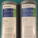New Pentek 0.5 Micron Carbon Block Cartridge Filter 455905-43 FloPlus-10BB Pack of 2