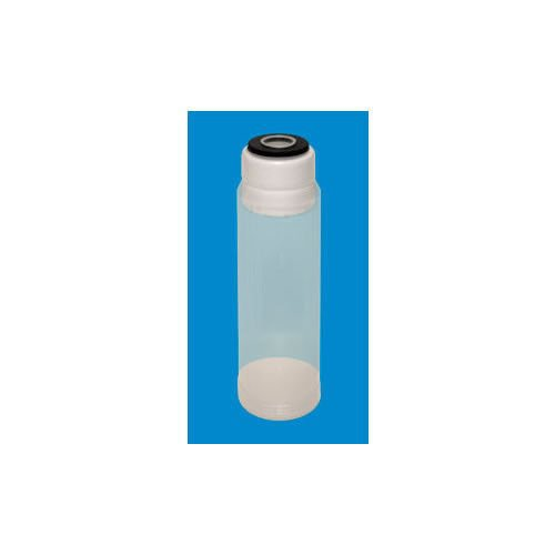 """New 10"""" Empty Cartridge Refillable Canister ERC-10-C Water Filters Clear"""