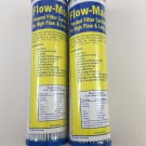 """New Watts Flow-Max 20 Absolute Micron Pleated Filter 9.75"""" x 2.5"""" Remove Cyst FM-20-975 Pack of 2"""