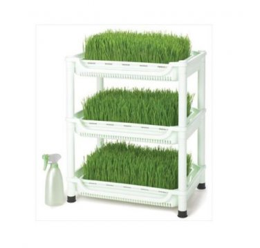 New Tribest Sproutman Soil-Free Wheatgrass Grower SM-350 White