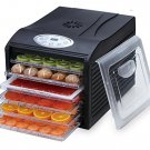 "New Samson ""Silent"" Dehydrator with Digital Controls and 6-Tray,Model SB-106B"