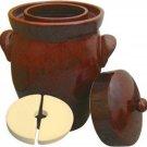 New K&K Keramik - German Made Fermenting Crock Pot , Kerazo F2,5 L