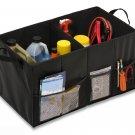 New Honey-Can-Do SFT-01166 Soft Storage Chest, Black Folding Trunk Organizer