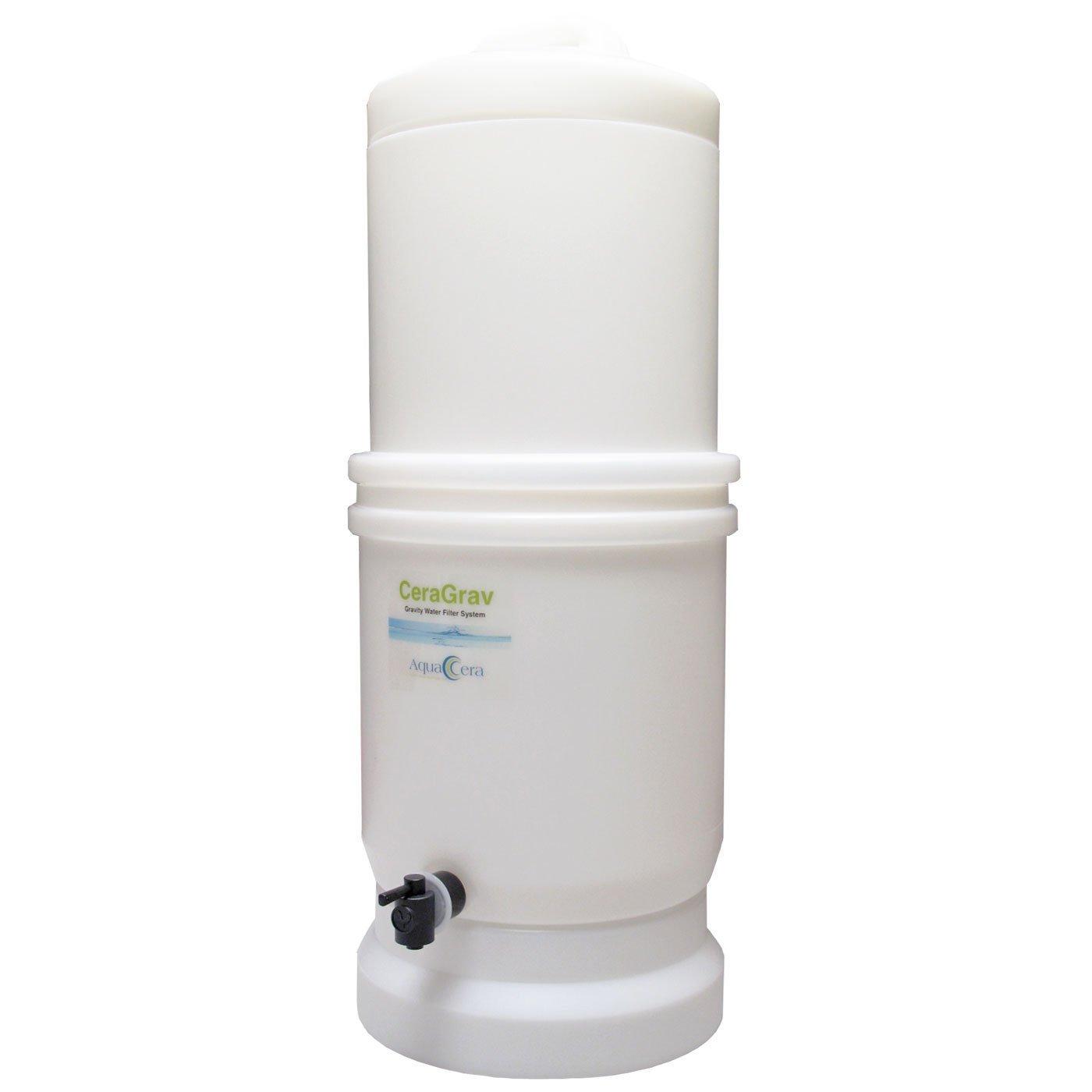 AquaCera Ceramic W9375000 LP-5 High Density Polyethylene Gravity Filter System