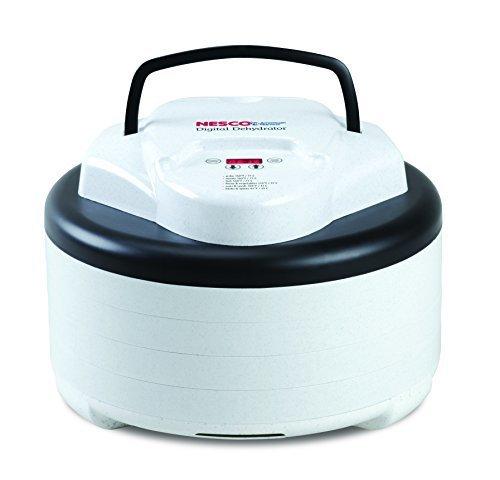 Nesco FD-77DT Digital Food Dehydrator, White by Nesco