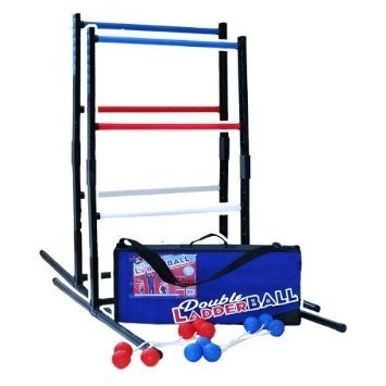 New Maranda Enterprises ME0LB3A-0LBRY Double Ladder Ball Game