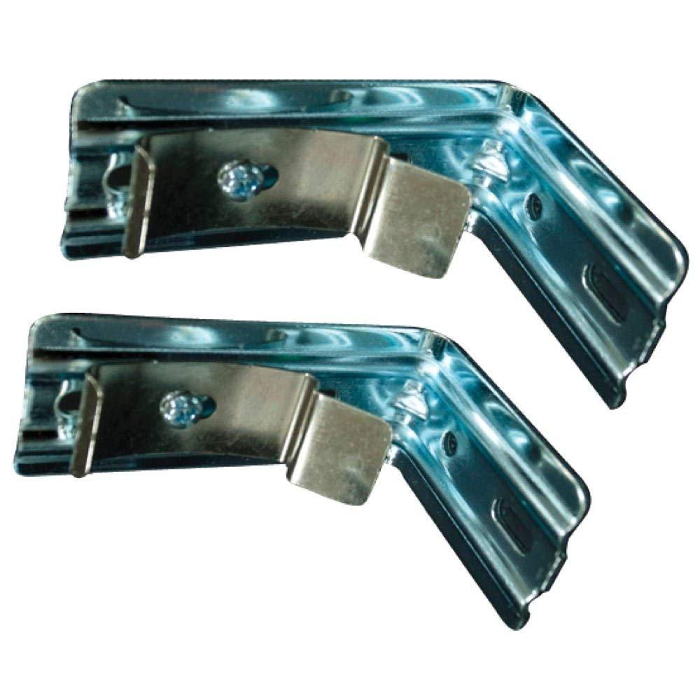 Universal 291554 Vertical Blind Brackets For Aluminum Headrail, 2 per Pack