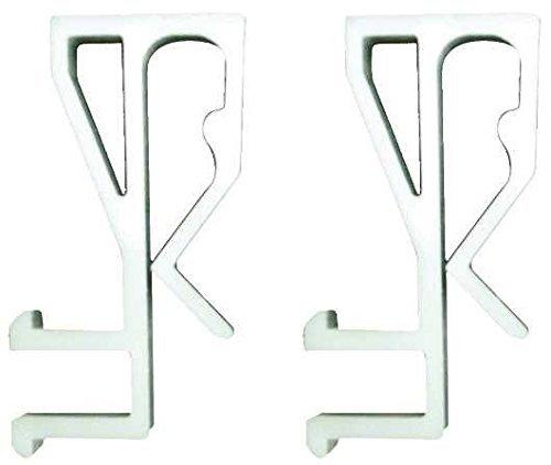 "DESIGNER'S TOUCH 296710 Mini Blind Valance Clip For 2"" Faux Wood Blind"