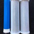 GE TFM-18 GPD RO Reverse Osmosis GE Membrane w/Ca Ware Pre