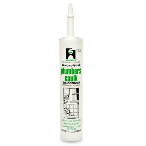 10.3 Fluid Oz. Cartridge Plumbers Caulk - Almond/Bone