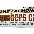 Oatey 25631 Hercules 5.5-Ounce Almond Tube Plumber's Caulk