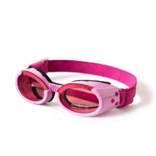 Doggles ILS Medium Pink Frame and Pink Lens