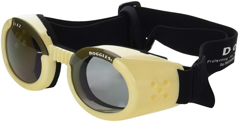 DogglesILS Medium Chrome Frame and Smoke Lens