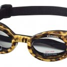 Doggles - ILS2 Leopard Frame with Smoke Lens, X Small