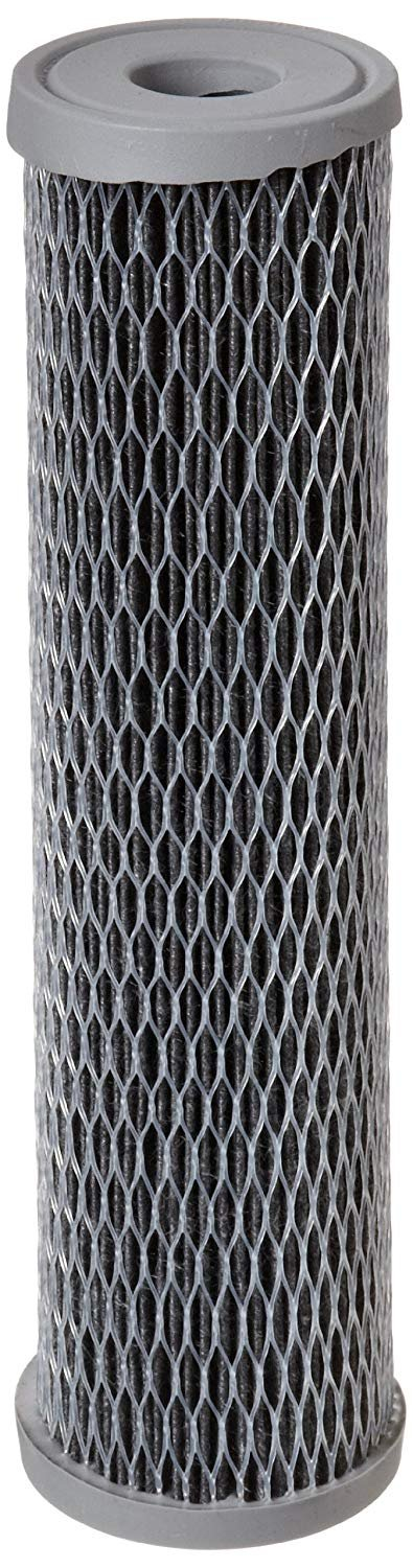 """Pentek NCP-10 Pleated Carbon-Impregnated Polyester Filter Cartridge, 9-3/4"""" x 2-1/2"""", 10 Microns"""