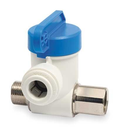 JOHN GUEST ASVPP1 Angle Stop Valve,3/8 x 1/4 In