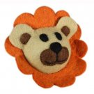 Wooly Wonkz Safari Dog Toy - Lion