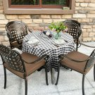 2 Pcs Stain Resistant and Wrinkle Resistant Table Cloth