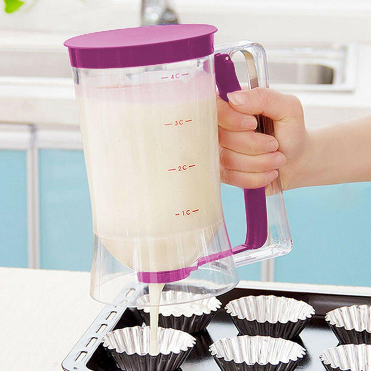 Batter Dispenser Cupcake Pancake Baking Tool